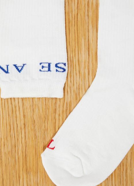 RoseannaChaussettes blanches en coton