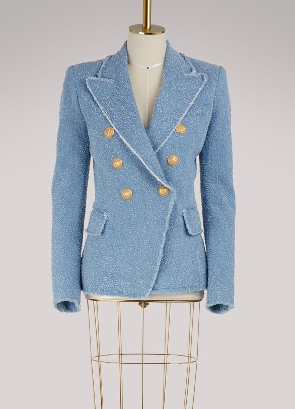 BalmainWaisted jacket