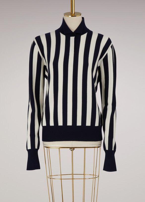 JW Anderson Pull rayé en laine