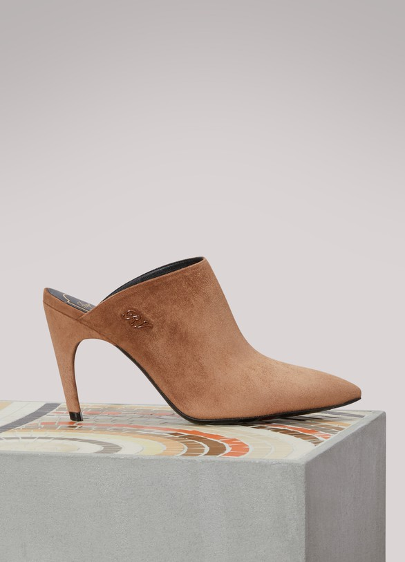 Roger Vivier Choc Real mules