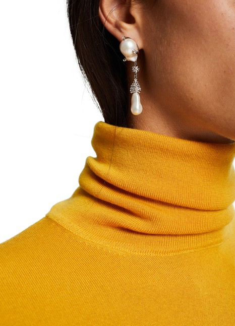 "GIVENCHY ""Midnight Pearl"" earrings"