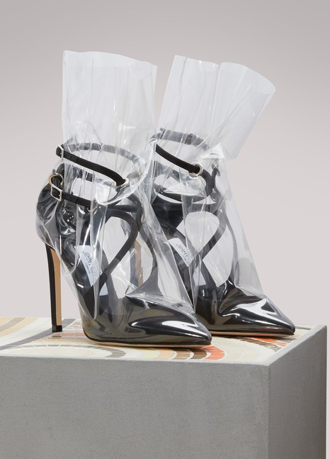 JIMMY CHOO x Off-White Sandales Claire 100