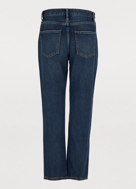 CURRENT ELLIOTThe Vintage cropped slim fit jeans