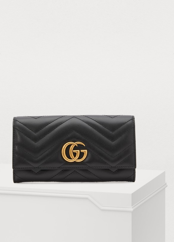 9086e9be333 Women s GG Marmont continental wallet