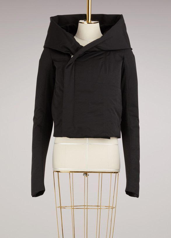 Rick Owens Hooded Down Jacket
