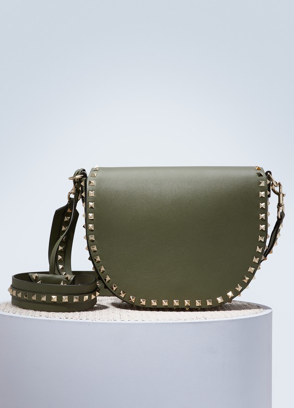 Valentino Rockstud saddle bag