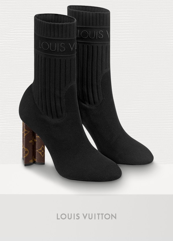 81e51dbfb172 ... Louis Vuitton Silhouette Ankle Boot ...