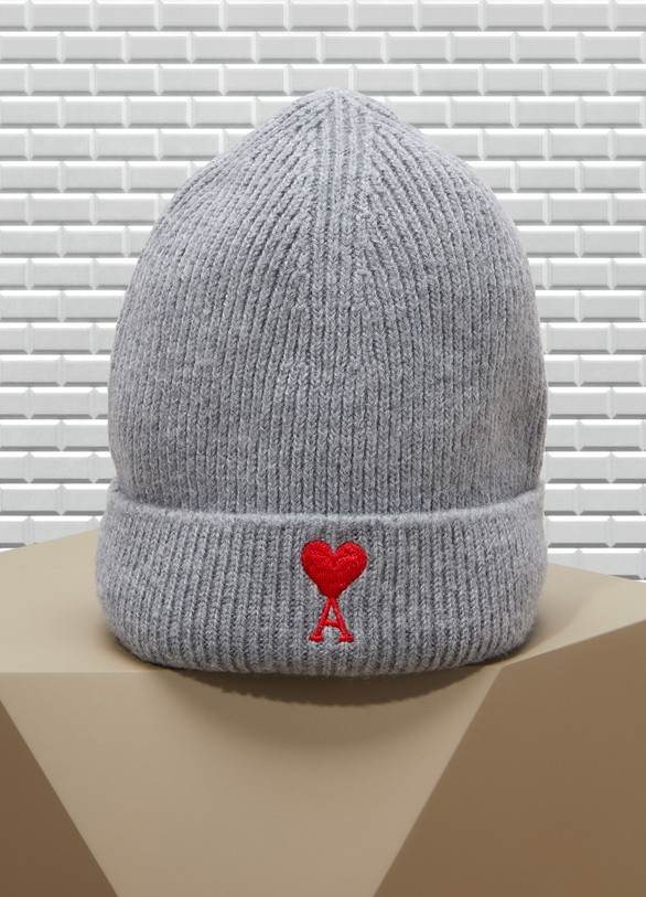 AmiBonnet cœur en laine