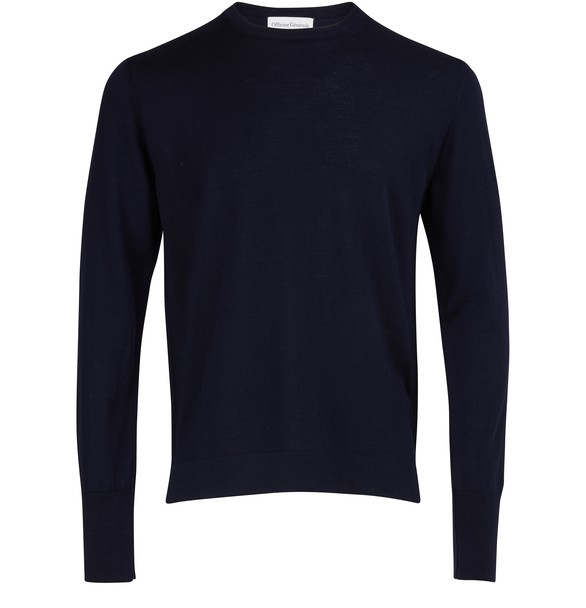 OFFICINE GENERALE Virgin wool sweatshirt