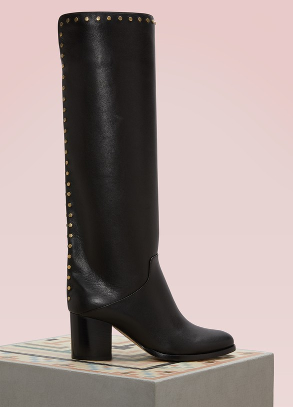 Jimmy Choo Monroe 65 Leather Boots