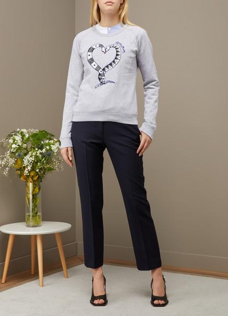 Maison LabicheSnakelove cotton sweatshirt