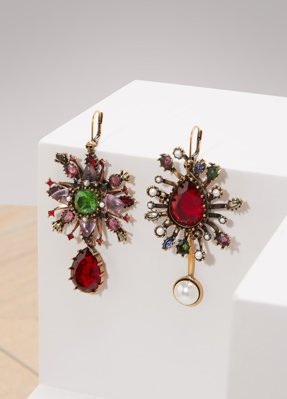 Alexander McQueen Asymmetric earrings