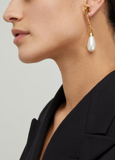 AMBUSHBoucle d'oreille Drop pearl