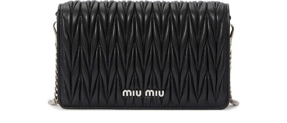 MIU MIUQuilted clutch
