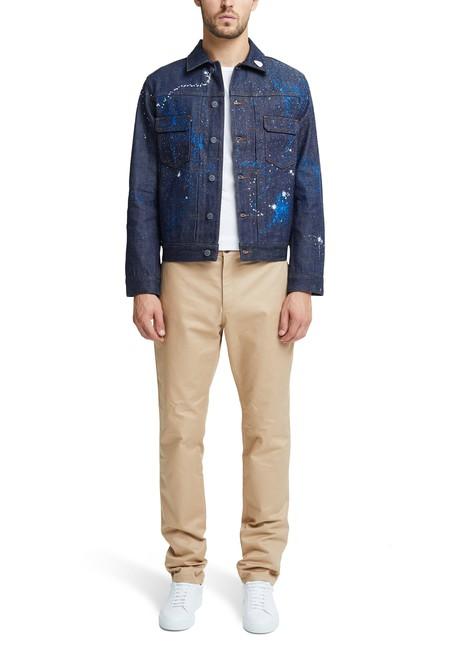 A.P.C.Customised denim jacket