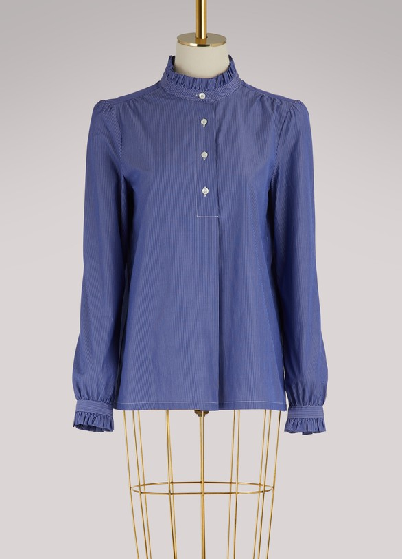A.P.C. Blouse Saint Germain en coton
