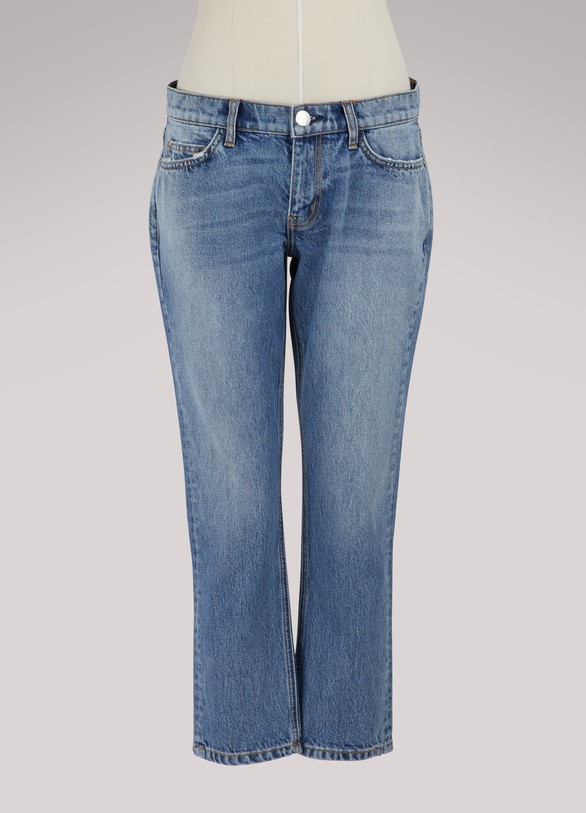 Current ElliottThe Cropped Straight jeans