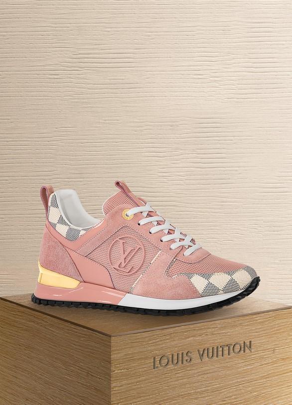 ab6627831dc Louis Vuitton Run Away Trainer