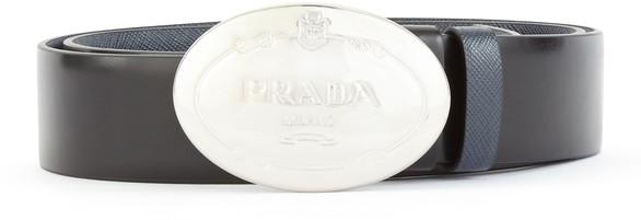 PRADAReversible leather belt